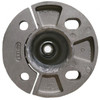 Aluminum round pole 12A4RSH125 bottom view