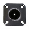 Round Aluminum Pole 18S04RS125 Bottom View