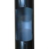 Aluminum Pole QS3AL Access Panel Hole