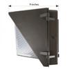LED Wall Pack LEDWP135 Side Dimensions