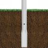 Aluminum Pole 15A5RT125DB Flattened View