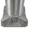 Aluminum Pole 35A8RT2501D8 Base View