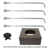Hardware for Round Tapered Steel Light Pole