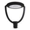 75 Watt LED Post-Top Area Light 9600 Lumens-Front View