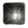 Aluminum Square Pole 18A4SS125DB Inside View