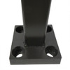 Aluminum Square Pole 10A4SS125S open view
