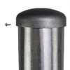 Aluminum Pole 10A4RS125S Pole Cap Attached