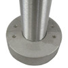 Aluminum round pole 10A4RSH125 covered view