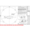 Fiberglass Pole 15SQ4FS Included Template