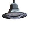 Gooseneck Decorative LED Pole Top Fixture with Double Arm