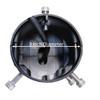 55 Watt Post-Top Area Light, 9600 Lumens Inside Diameter HALO55
