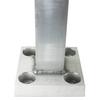 15 Foot Square Aluminum Light Pole - Factory Direct Aluminum Light Poles