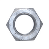"""Single Steel Hex Nut for 1"""" Anchor Bolt"""