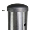Aluminum Pole H10A4RS125 Cap Attached