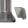 Aluminum Pole 16A6RS188 Base Cover Unattached