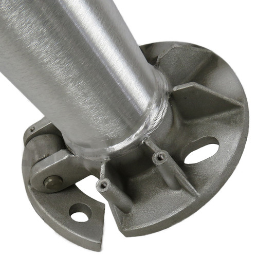 Aluminum Pole 16A5RTH125 Tilted Base View