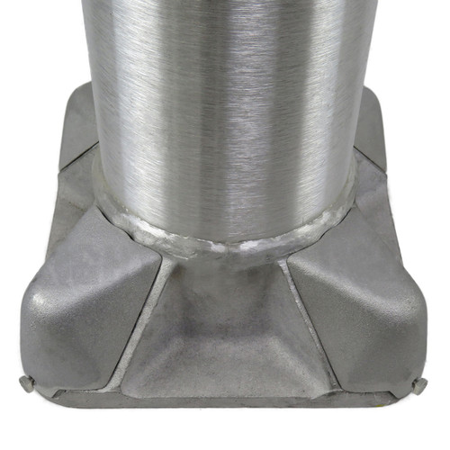 Aluminum Pole 14A4RT125 Base View