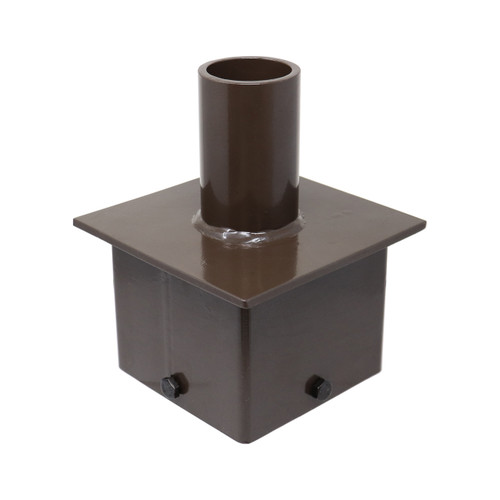 Square Pole Tenon Adapter for 6 Inch Square Poles 10031 Thumbnail
