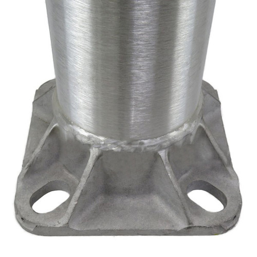 Aluminum Pole H16A4RT188 Open Base View