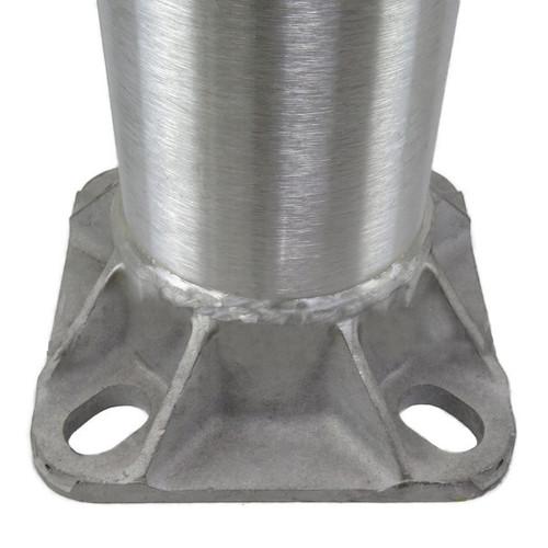 Aluminum Pole H16A4RT188 Open Base View