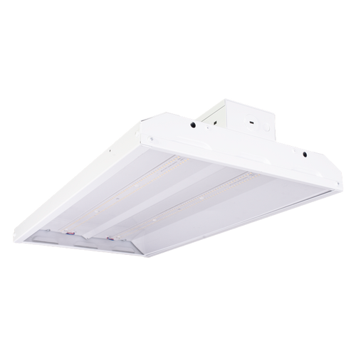 LED High Bay 120-277 Volt, 21,356 Lumen, 162 Watt, Clear Lens, 5000K, White LEDHB110