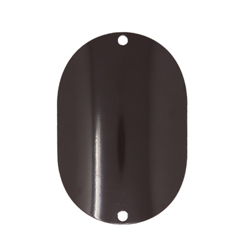 Aluminum Oval Curved Handhole Cover, 5 x 6.25 Inch, thumbnail