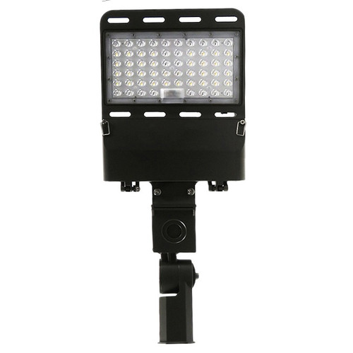 150 Watt LED Flood Light. Die-Cast Aluminum, Dark Bronze Front
