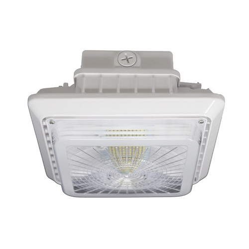 40 Watt LED Canopy Light, 5300 Lumens Side View CAN40