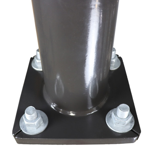 Round Tapered Steel Pole Base QS25S7RT125