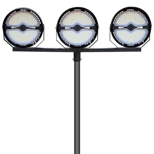 135,000 Lumen Sports Light Package with Power Bar Bracket_Profile_PB135