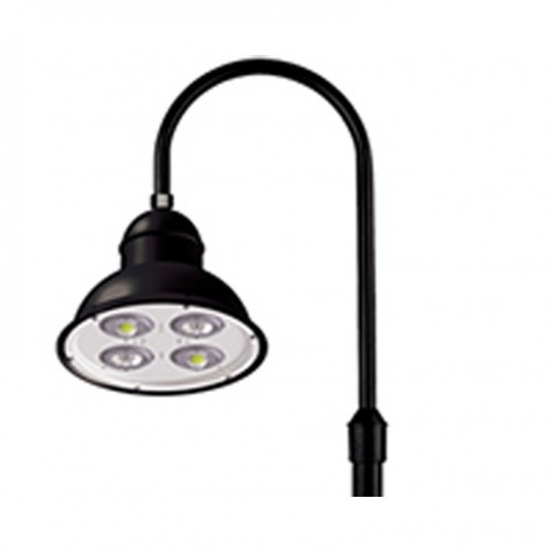 Architectural Gooseneck LED Light Fixture with Single Arm