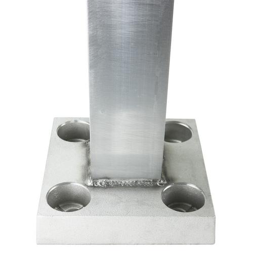 20 Foot Square Aluminum Light Pole - Factory Direct Aluminum Light Poles