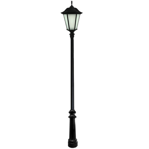Windsor Direct Burial Decorative LED Pole Kit