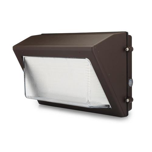 120 Watt LED Wallpack - Front 30 degrees View