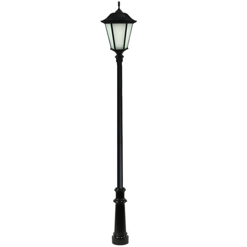 Wexford LED Light Pole Kit with Lantern Fixture 3 Inch Diameter Light Pole - Direct Burial-Thumbnail