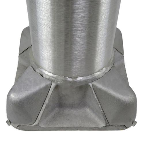 Aluminum Pole 25A10RT156 Base View