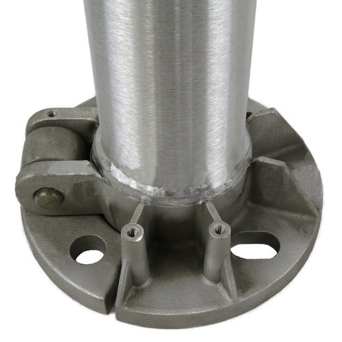 Aluminum Pole 12A5RTH156 Flat Base View