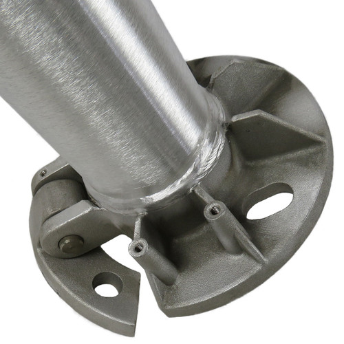 Aluminum Pole 14A4RTH125 Tilted Base View