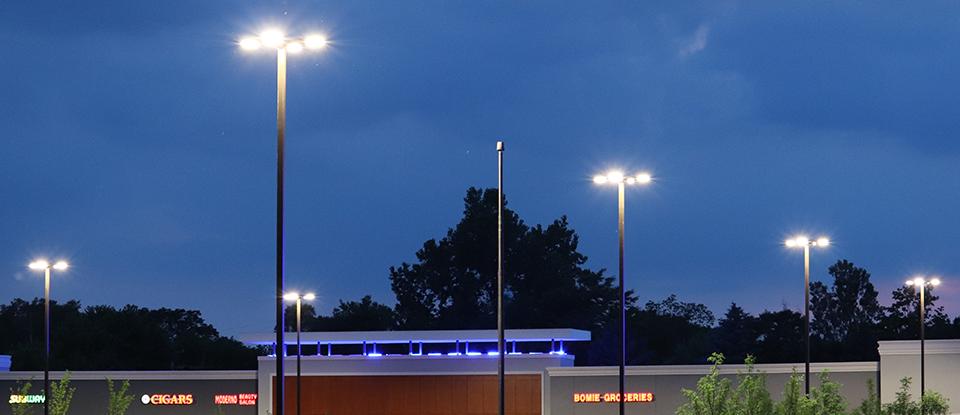 Parking Lot LED Light Pole Kits | Lightmart.com
