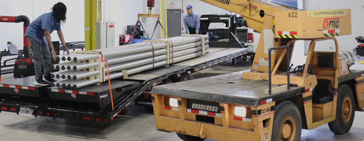 LARGEST INVENTORY OF QUICK-SHIP LIGHT POLES