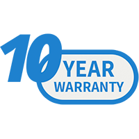 Ten-Year Warranty