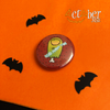Set of Five Black Cats and Witches and Stuff Badges