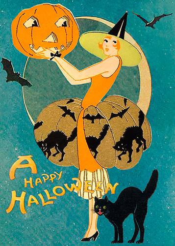 A Happy Halloween  Halloween Card