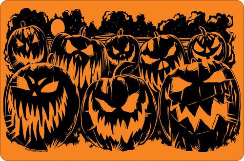 Evil Pumpkins Mini Tin Sign