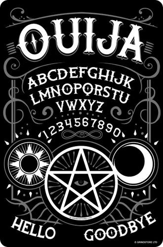 Ouija Mini Tin Sign