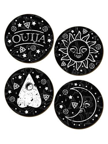 Ouija 4 piece Coaster Set