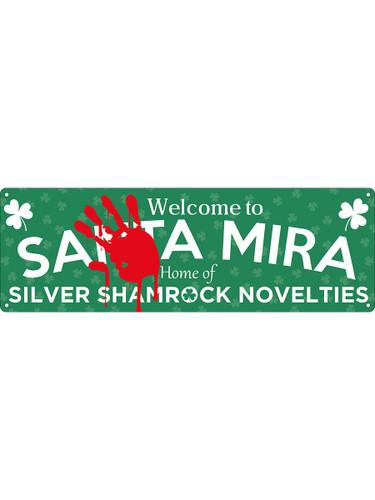 Welcome to Santa Mira Tin Sign