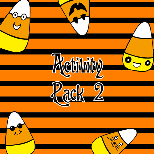 Free Halloween Activity Pack 2