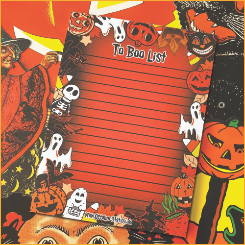 To Boo List A6 Notepad