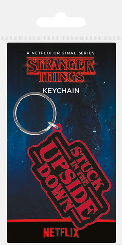 Official Stranger Things Upside Down Keychain